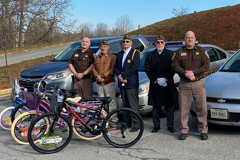 VFW donates bicycles for Christmas