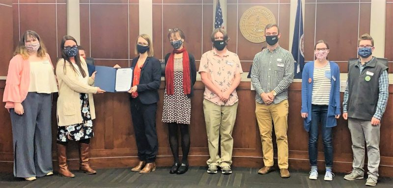 Radford Council celebrates National Library Week by honoring Radford Library